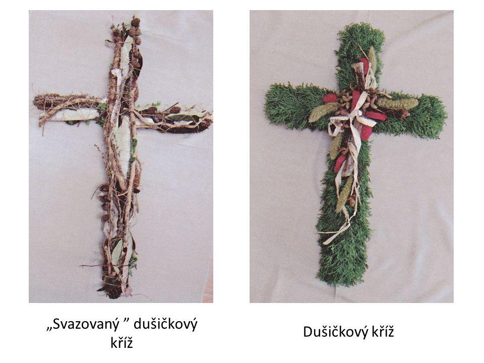 """""""Svazovaný dušičkový kříž Dušičkový kříž"""