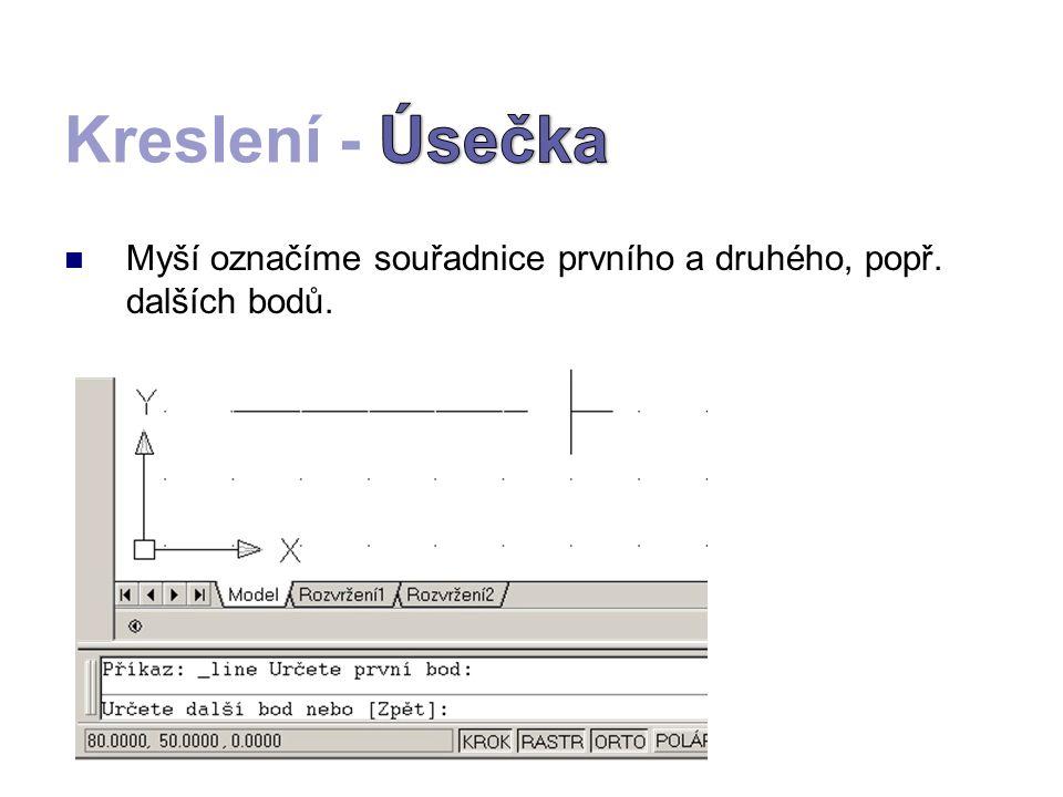 V českém názvosloví AutoCADu je objekt tvořen křivkou (Polyline).