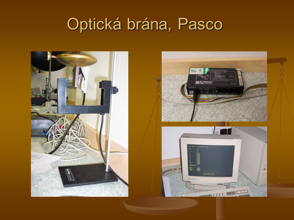 Optická brána, Pasco