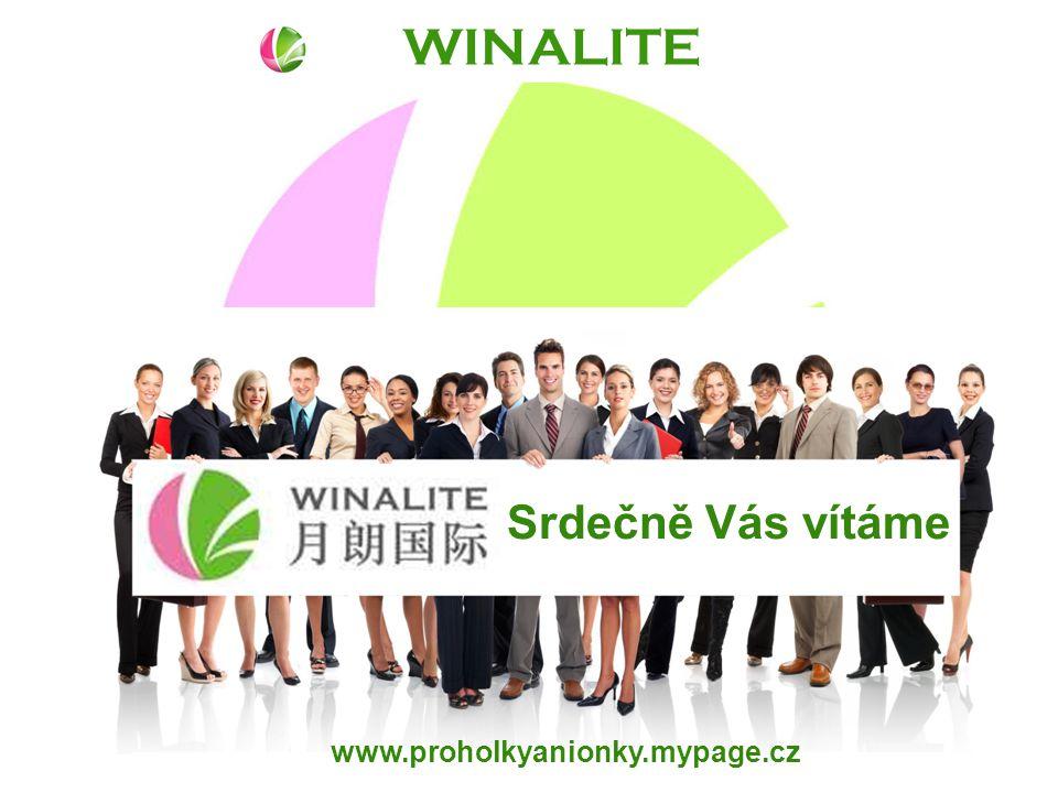 WINALITE www.proholkyanionky.mypage.cz Srdečně Vás vítáme