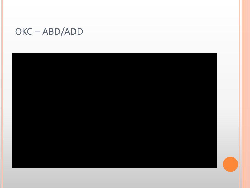 OKC – ABD/ADD