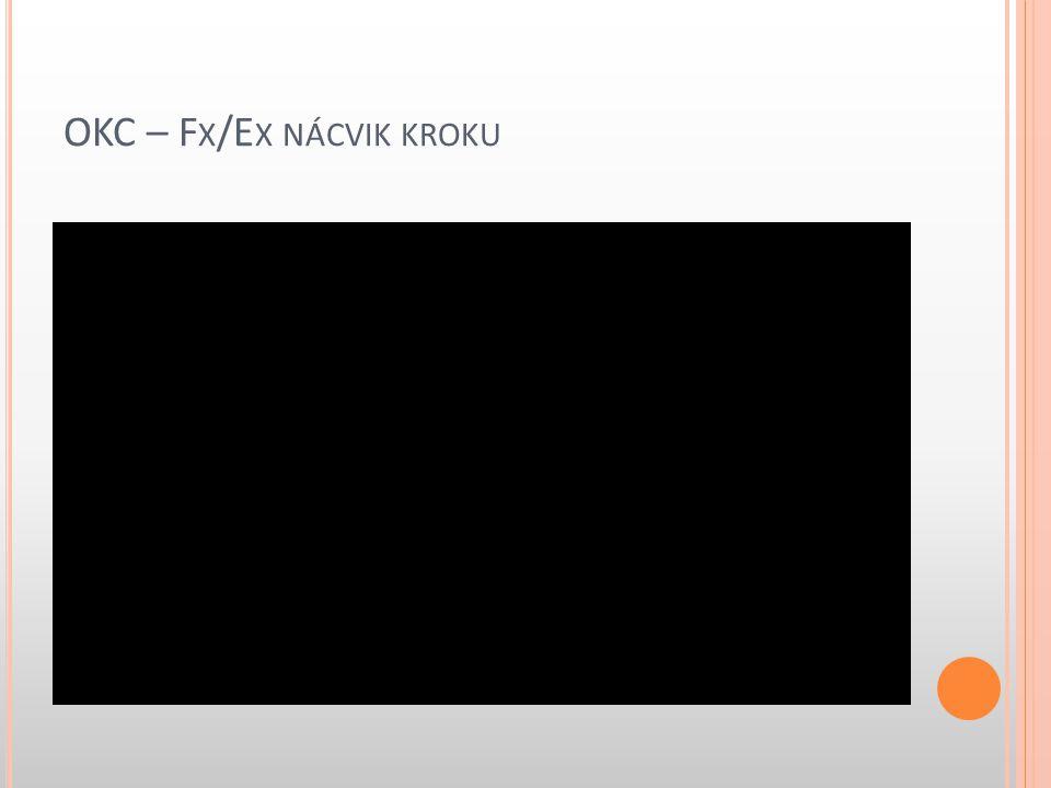 OKC – F X /E X NÁCVIK KROKU