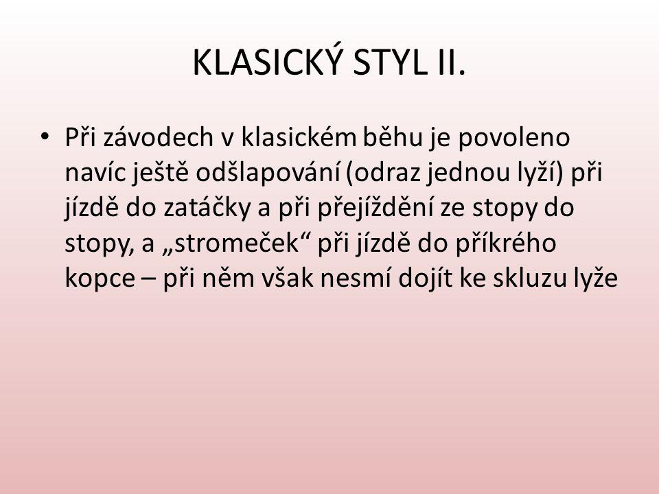KLASICKÝ STYL II.
