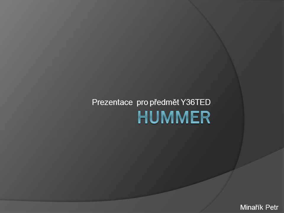 Prezentace pro předmět Y36TED Minařík Petr