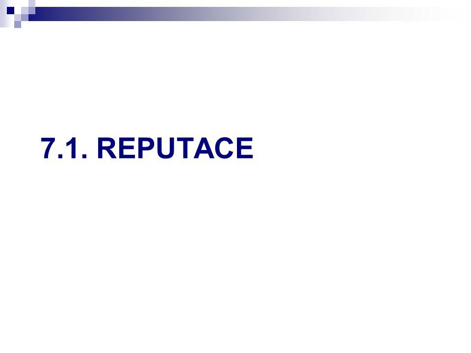 7.1. REPUTACE