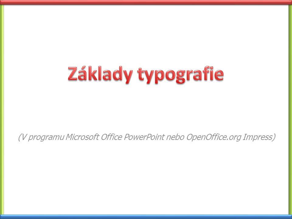 Co je to typografie.Typografie je umělecko-technický obor, který se zabývá tiskovým písmem.