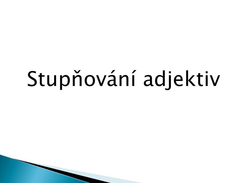 1) Pozitiv – brevis, e 2) Komparativ – brevior, ius 3) Superlativ – brevissimus, a, um