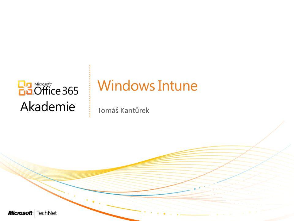 Sledování licencí Windows Intune v1 spolupracoval s Microsoft Volume Licensing Service Ve v2 můžete rovněž přidat: FPP licence OEM licence Licence třetích stran A porovnat se seznamem instalovaného software