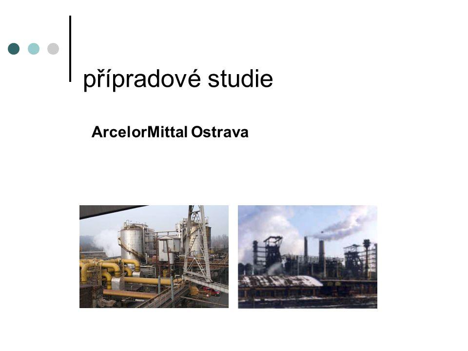 přípradové studie ArcelorMittal Ostrava