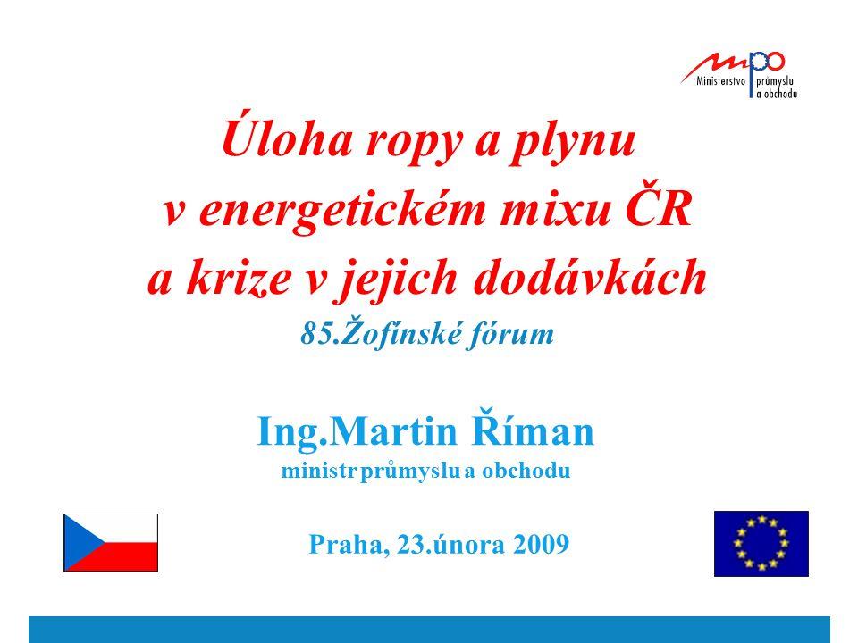 2 Primární energetické zdroje ČR