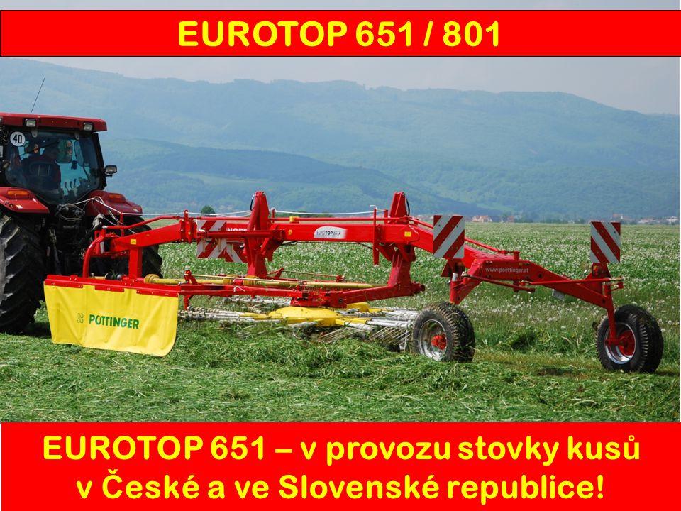 EUROTOP 651 / 801 EUROTOP 651 – v provozu stovky kus ů v Č eské a ve Slovenské republice!