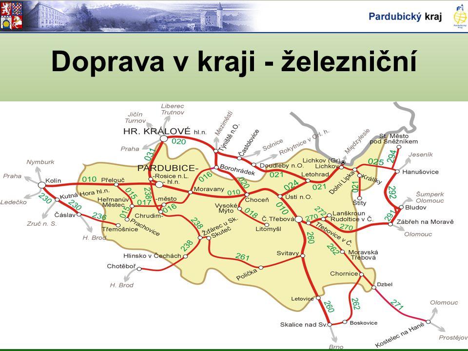 Doprava v kraji - železniční
