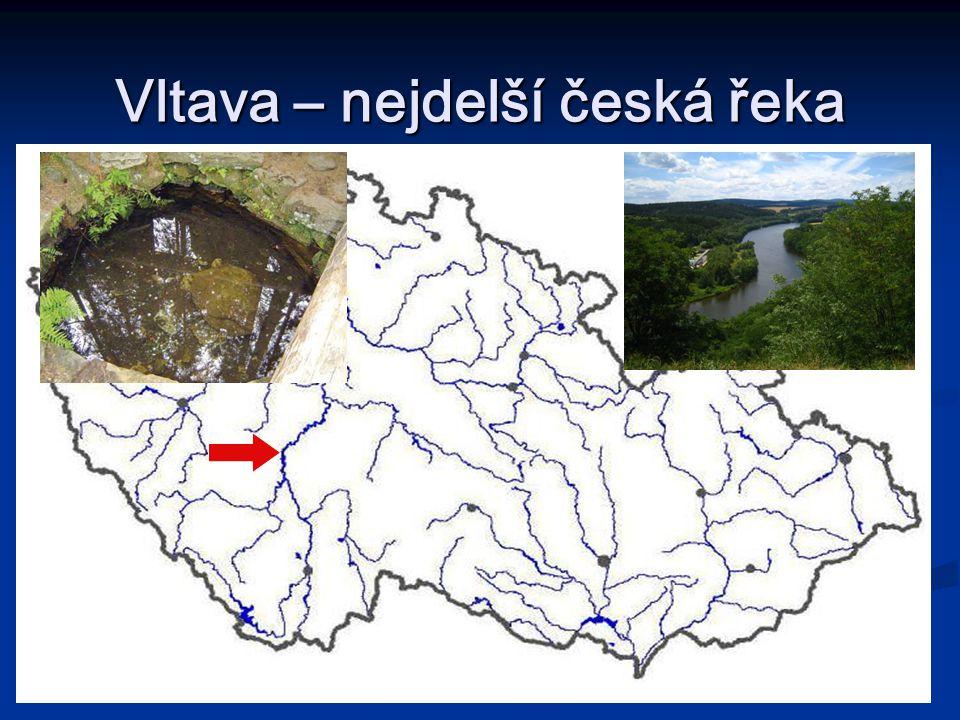 Vltava – nejdelší česká řeka