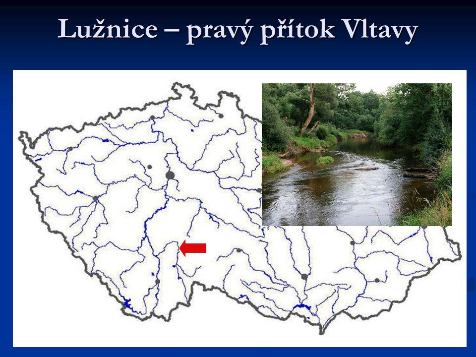 Lužnice – pravý přítok Vltavy