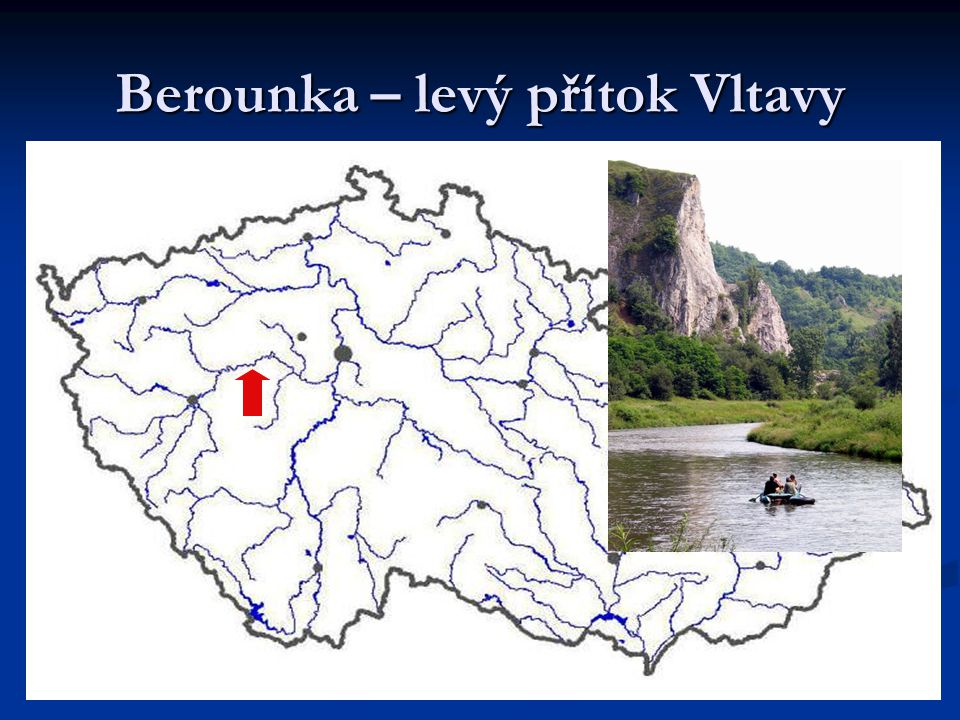 Berounka – levý přítok Vltavy