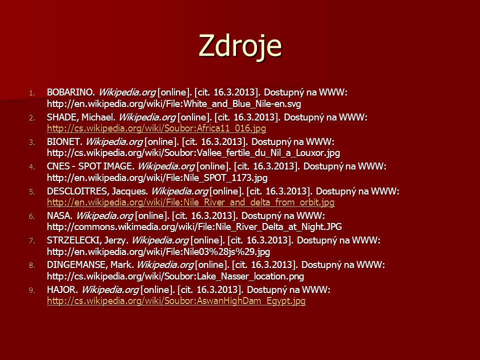 Zdroje 1.BOBARINO. Wikipedia.org [online]. [cit. 16.3.2013].