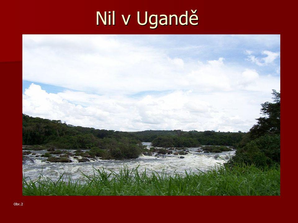 Nil v Ugandě Obr. 2