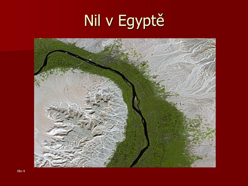 Nil v Egyptě Obr. 4