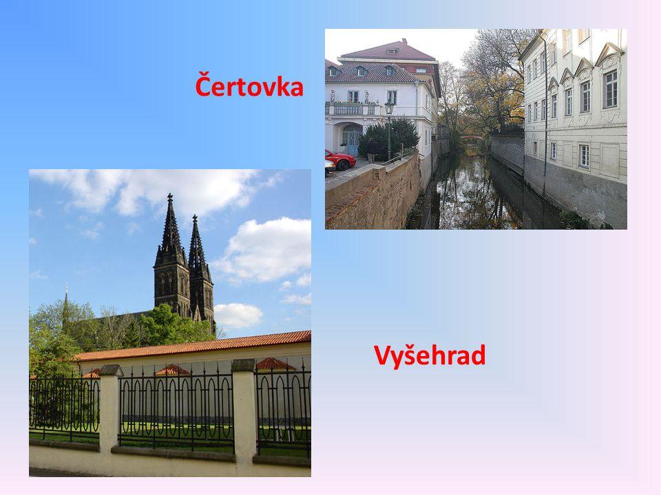 Čertovka Vyšehrad