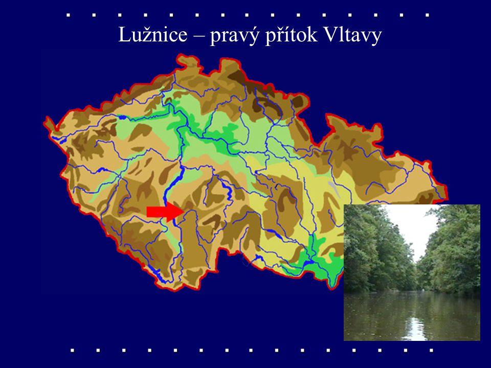 Malše – pravý přítok Vltavy