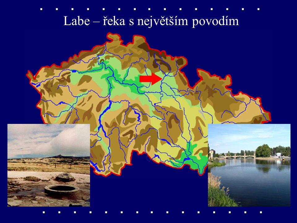 Labe – řeka s největším povodím