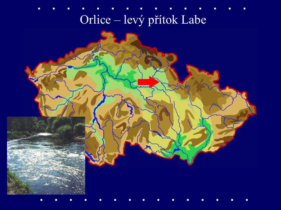 Orlice – levý přítok Labe