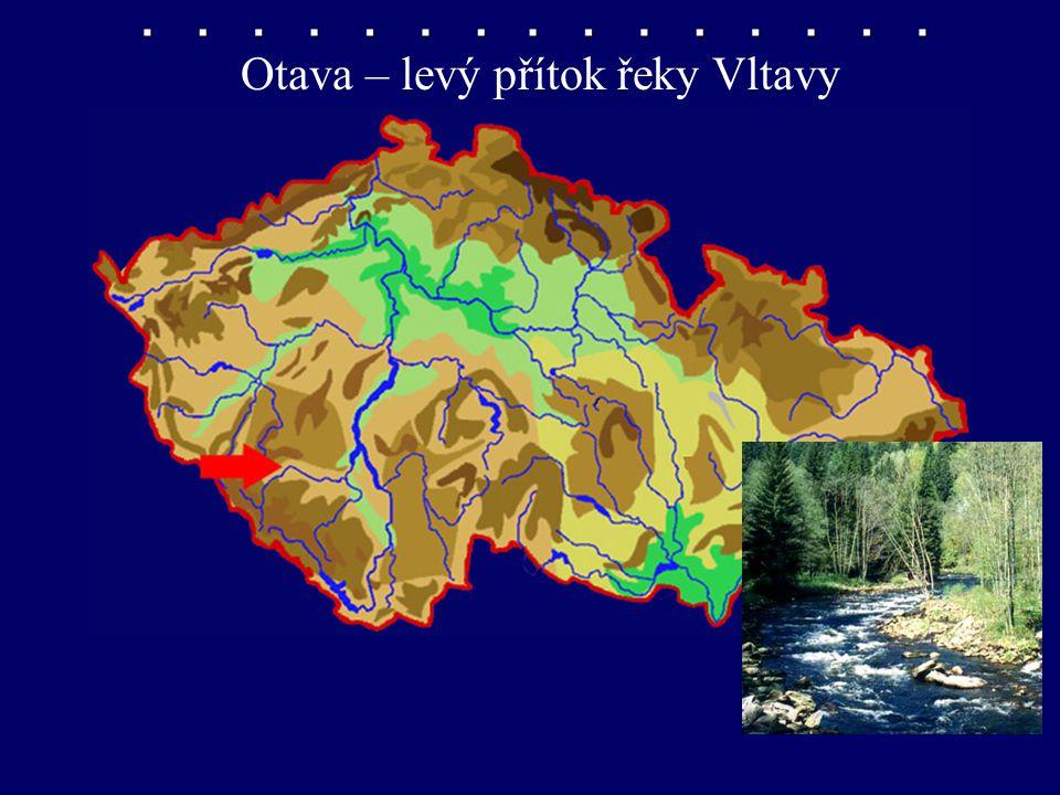 Otava – levý přítok řeky Vltavy
