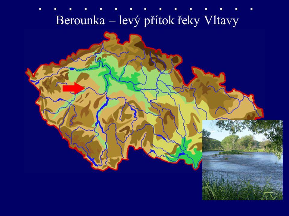 Berounka – levý přítok řeky Vltavy
