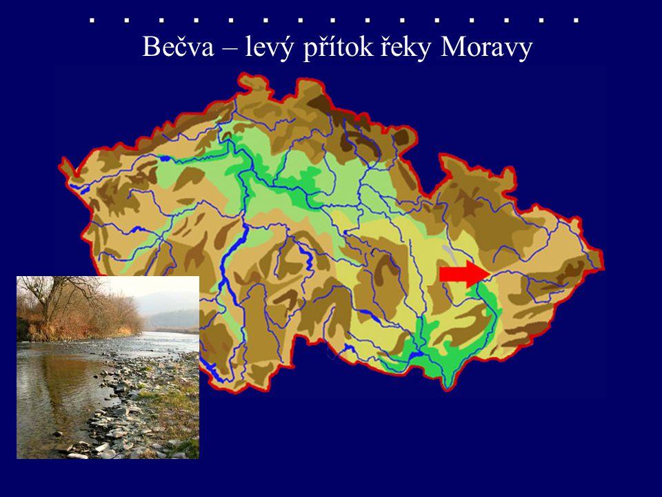 Bečva – levý přítok řeky Moravy