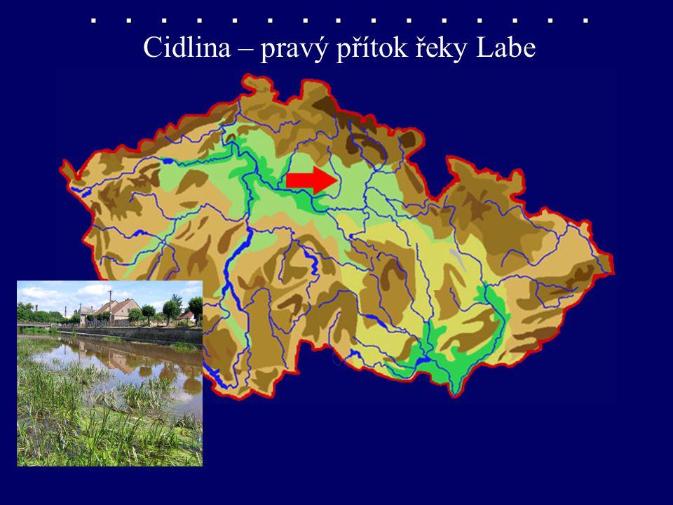 Samostatná práce do sešitu Podle šablonky si naši vlast obkresli řeky, rybníky a nádrže si sem zakresli.