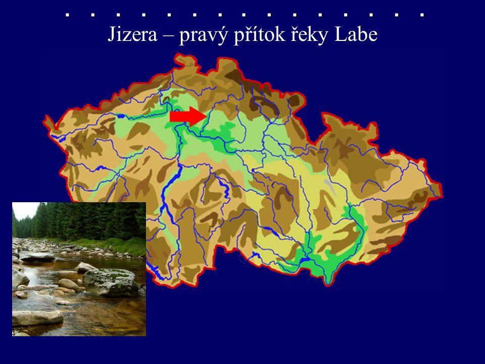 Jizera – pravý přítok řeky Labe