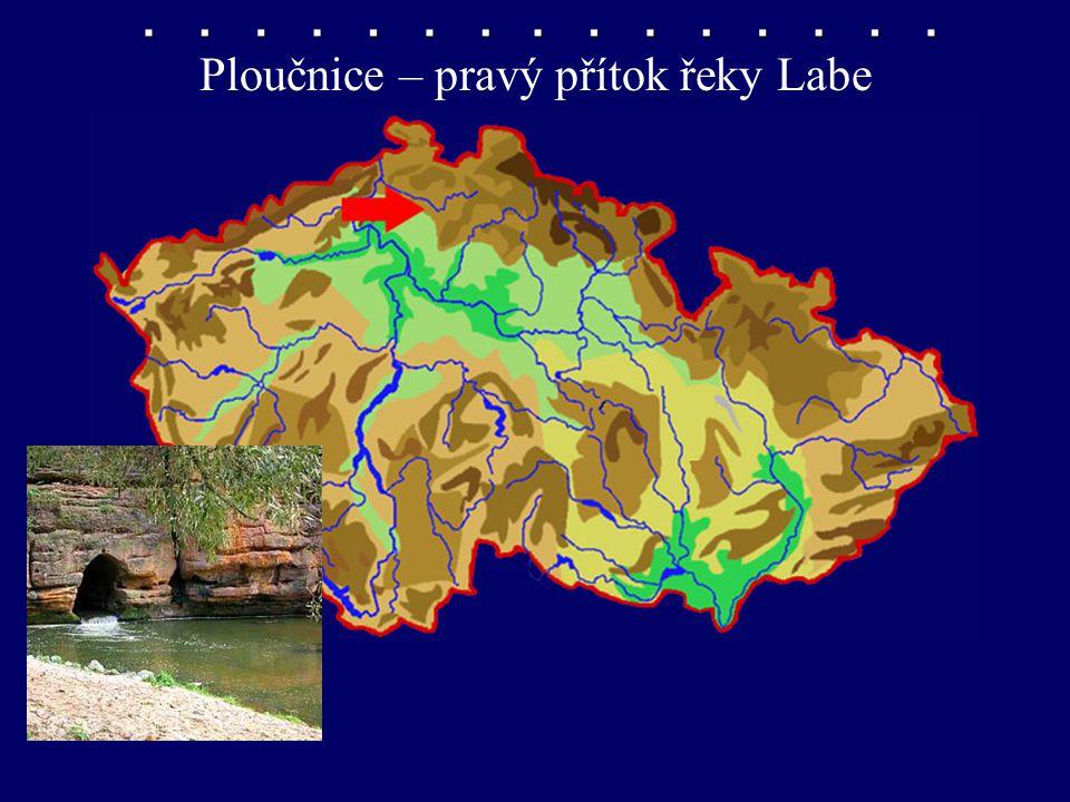 Ploučnice – pravý přítok Labe Ploučnice – pravý přítok řeky Labe