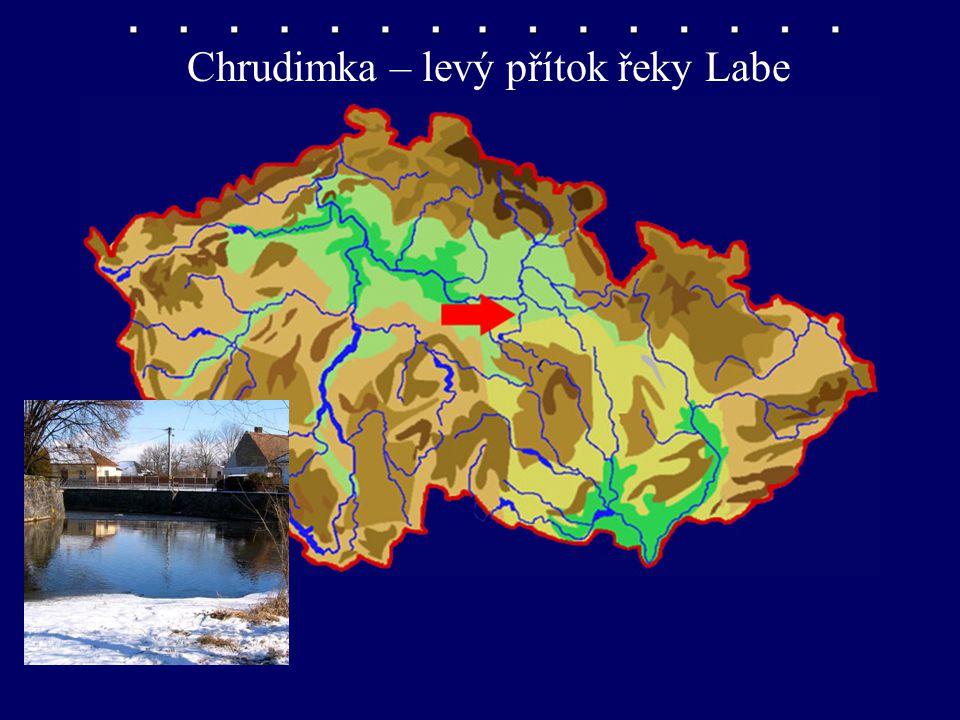 Chrudimka – levý přítok řeky Labe