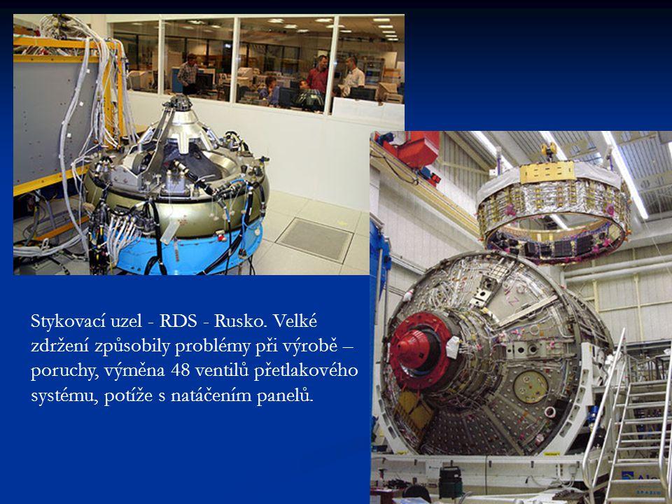 Stykovací uzel - RDS - Rusko.
