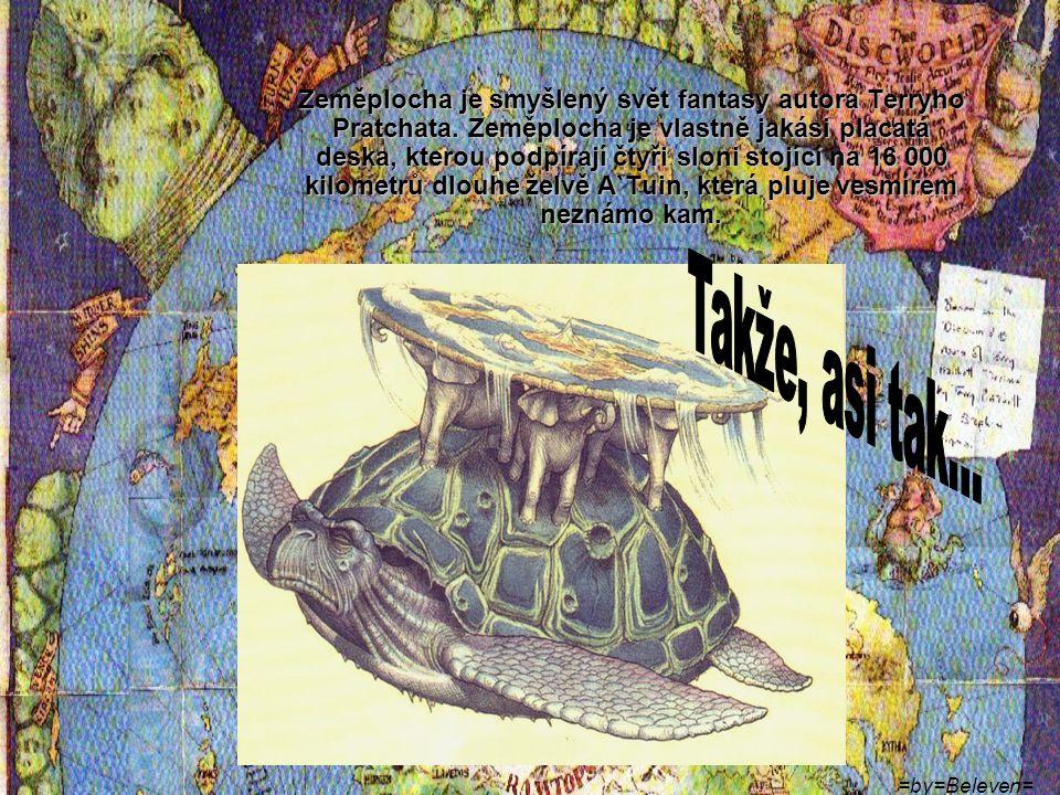 Terry Pratchett To je on: Veselý Chlapík… Můj nejoblíbenější autor humorné fantasy.