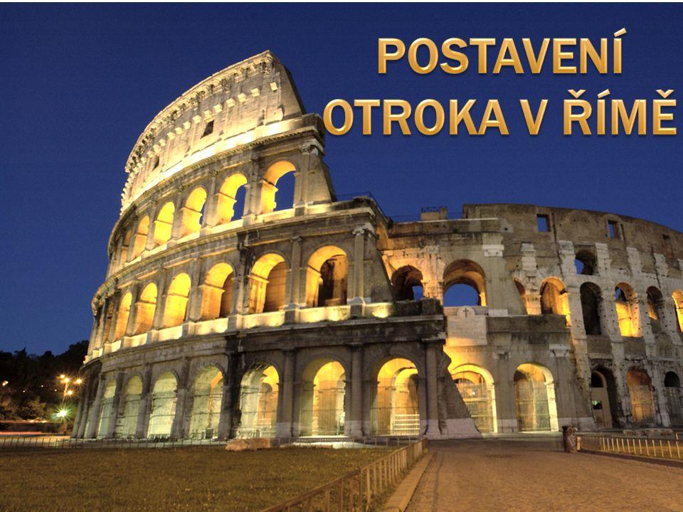  Na počátku republiky bylo v Římě jen málo otroků.