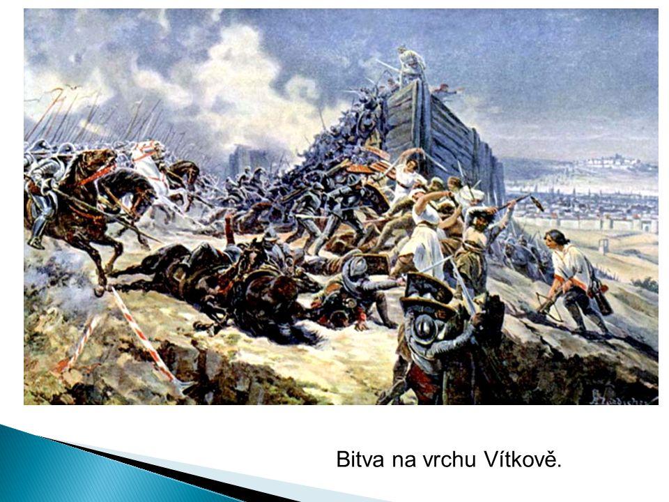 Bitva na vrchu Vítkově.