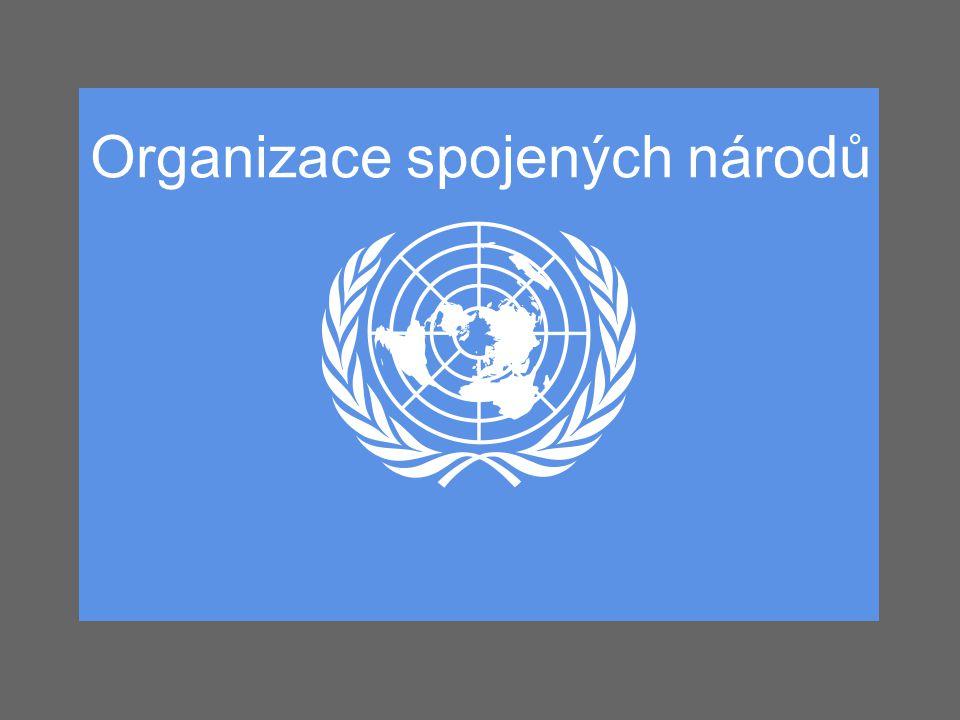 Historie a součastnost OSN byla založena 24.