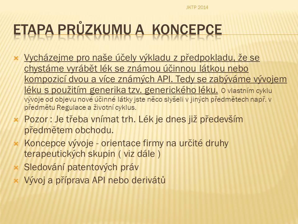  Pro formulaci lékové formy se používá dále řada pomocných látek tzv.