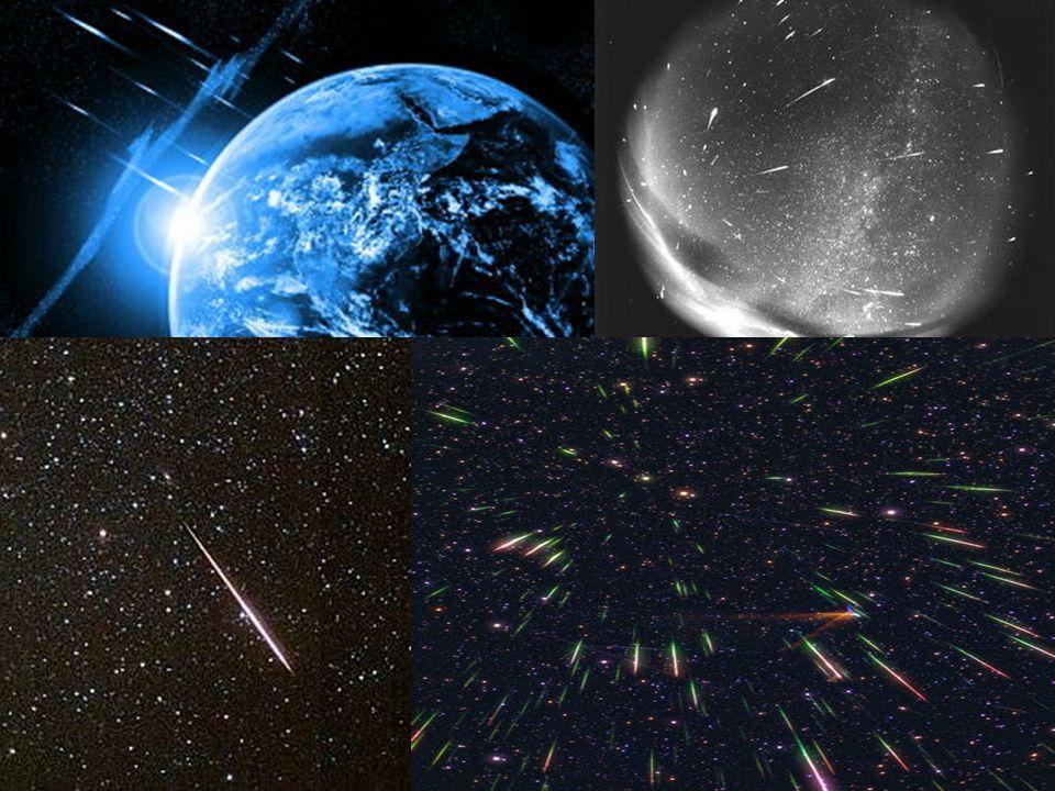 Meteority Meteority Pevná tělesa,která přežijí pád atmosférou a dopadnou na zem Pevná tělesa,která přežijí pád atmosférou a dopadnou na zem Zbytky meteorických těles Zbytky meteorických těles Meteory kometárního původu se však vypaří Meteory kometárního původu se však vypaří Meteority rozlišujeme podle složení do 5 skupin Meteority rozlišujeme podle složení do 5 skupin a)Aerolity b)chondrity c)achondrity d)siderolity e)siderity d)siderolity e)siderity