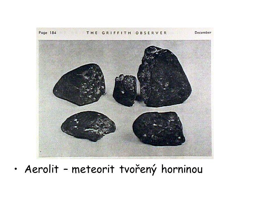 Siderit – meteorit tvořený železem