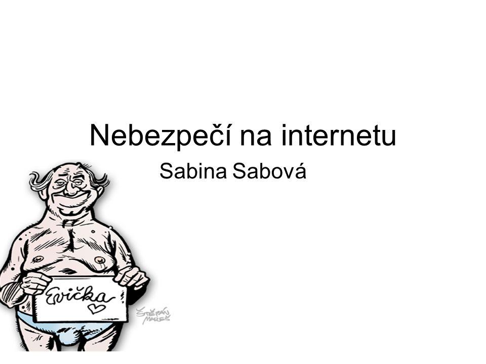 Nebezpečí na internetu Sabina Sabová
