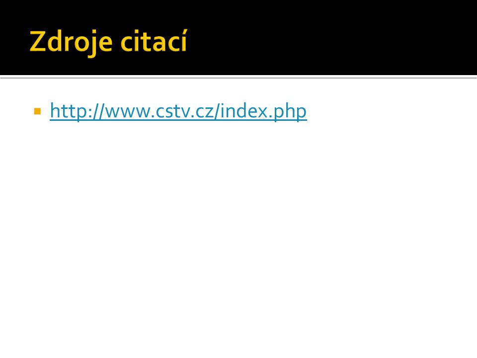  http://www.cstv.cz/index.php http://www.cstv.cz/index.php