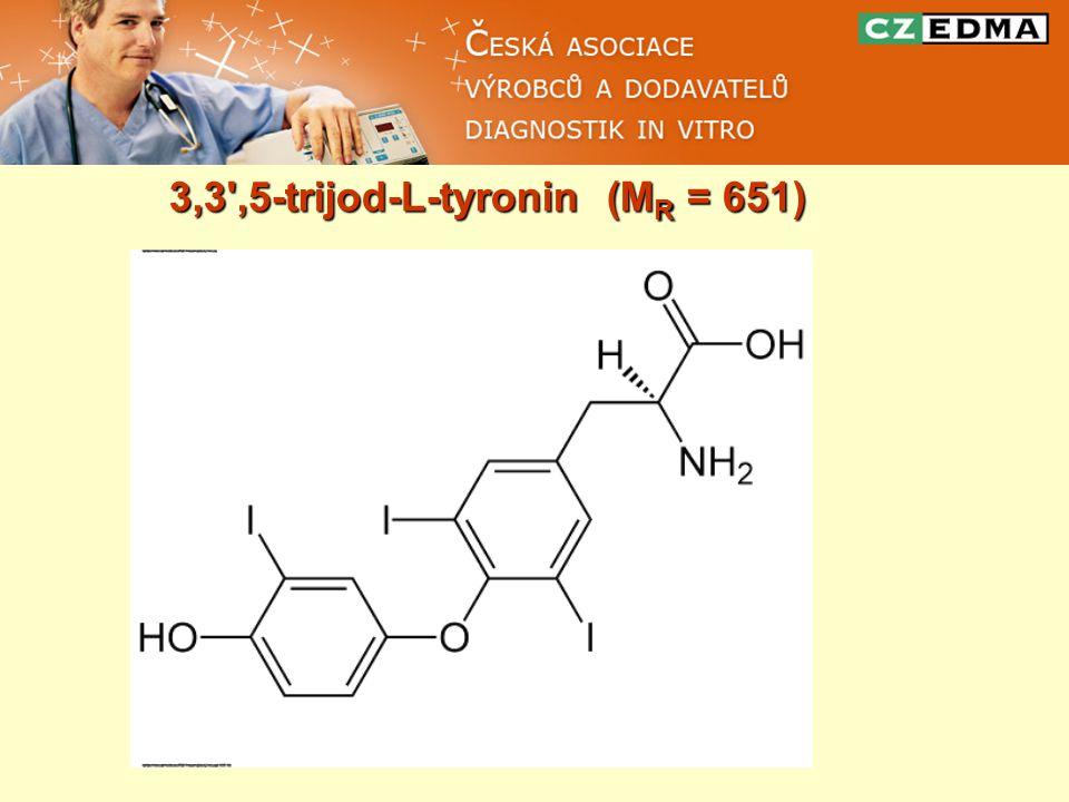 3,3',5-trijod-L-tyronin (M R = 651)