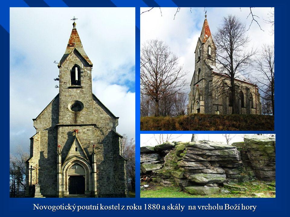 Oblíbeným výletním místem je Boží hora 525 m.n.m.