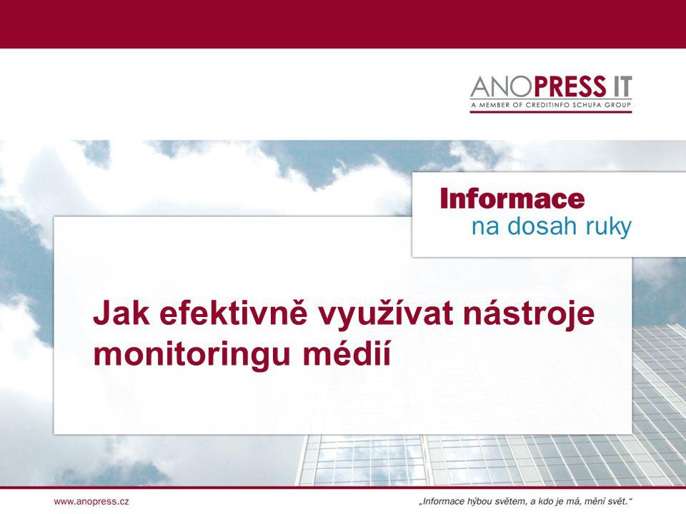 Jak efektivně využívat nástroje monitoringu médií