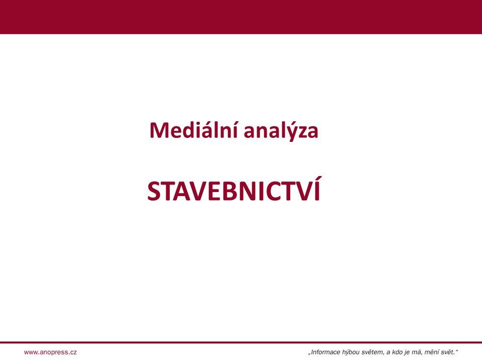 Mediální analýza STAVEBNICTVÍ