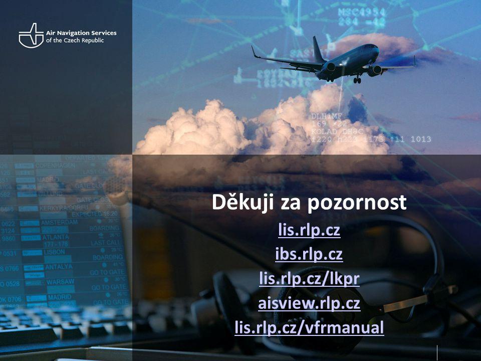 Děkuji za pozornost lis.rlp.cz ibs.rlp.cz lis.rlp.cz/lkpr aisview.rlp.cz lis.rlp.cz/vfrmanual