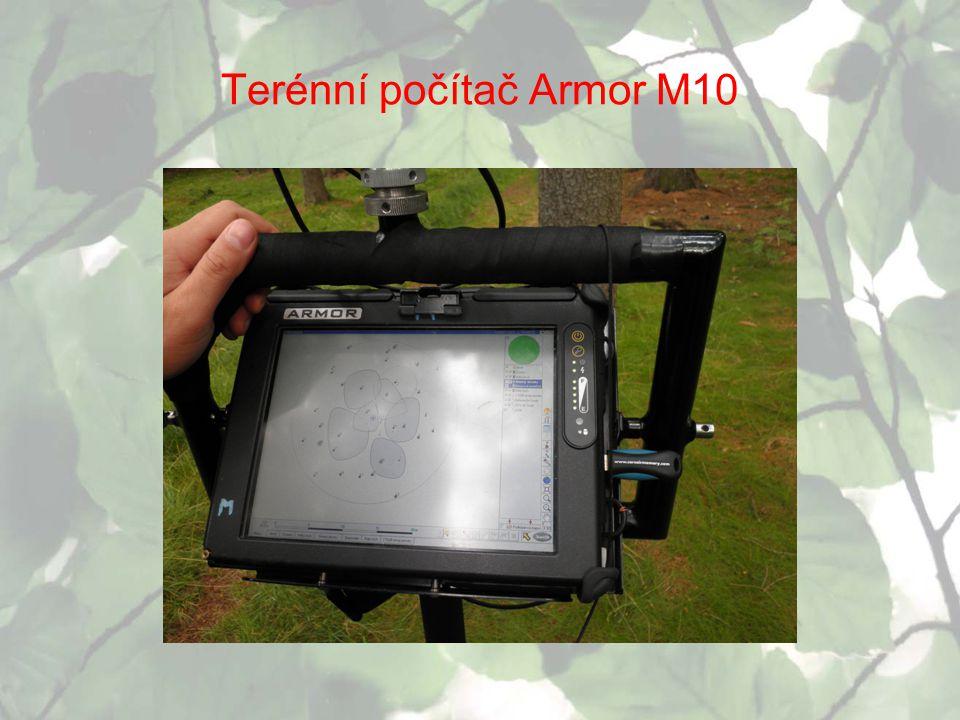 Terénní počítač Armor M10