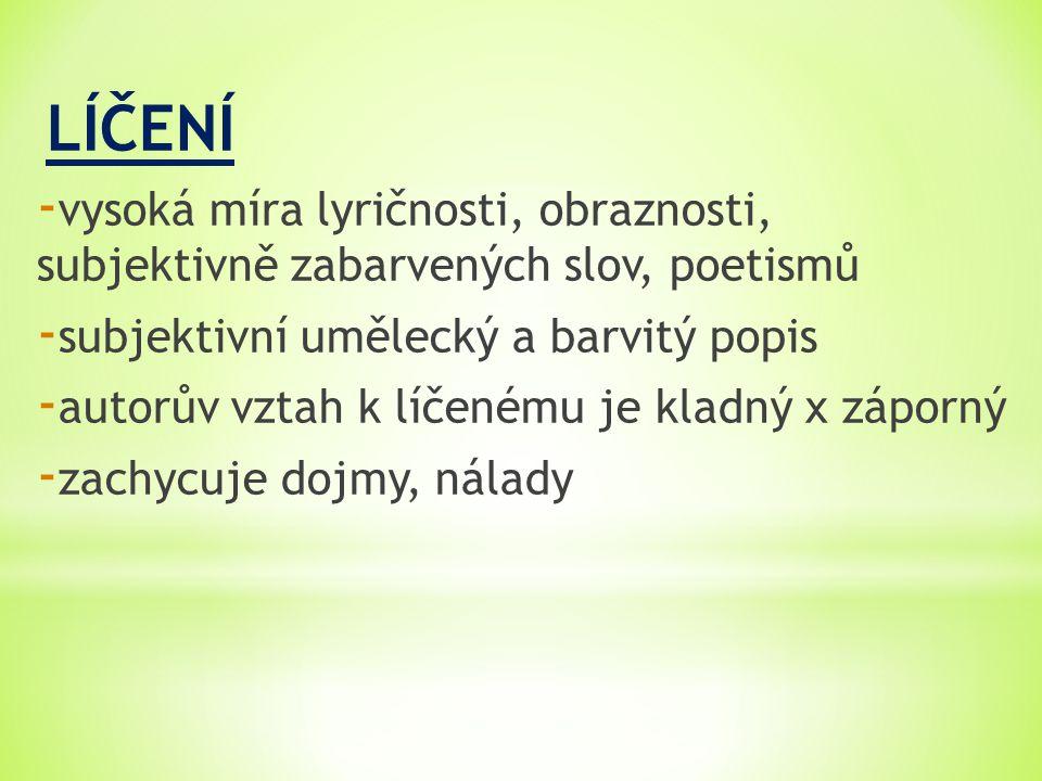 1.Přečtěte si ukázky z díla KARLA ČAPKA 2. Jaká je slovní zásoba ukázek.